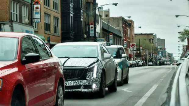预计今年年内发布 新款凯迪拉克XTS谍照-汽车氪