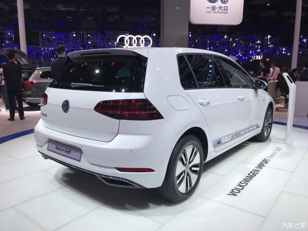 大众新款高尔夫电动版e-Golf正式发布-车神网