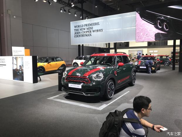 新MINI JCW COUNTRYMAN全球首发-汽车氪