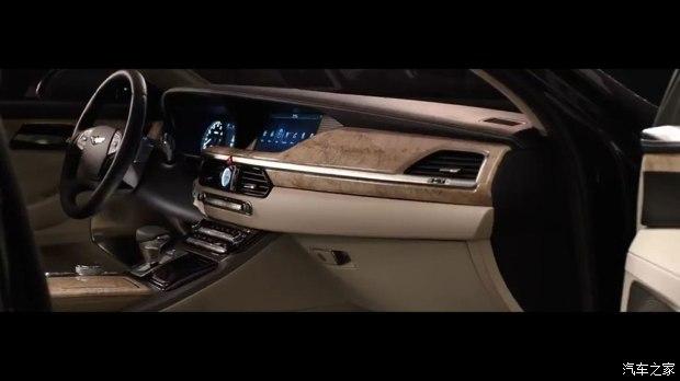 双色车身涂装 Genesis G90特别版首发-车神网