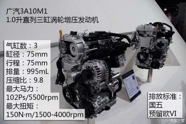 传祺GS3或搭载 广汽1.0T发动机将量产-汽车氪