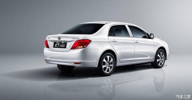 比亚迪e5 300上市 售19.59-21.59万元-汽车氪