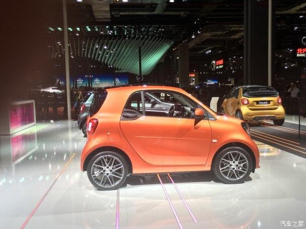 smart fortwo定制版上市 售29.9888万起-汽车氪