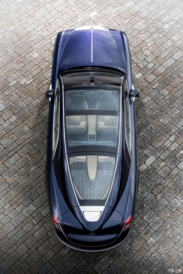 定制化的巅峰之作 劳斯莱斯慧影发布-汽车氪