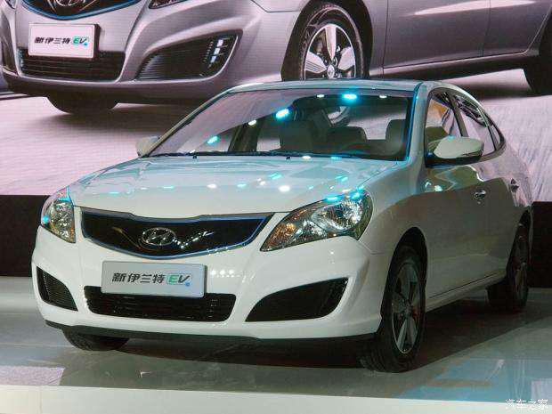 售19.98-20.28万 北京现代伊兰特EV上市-车神网