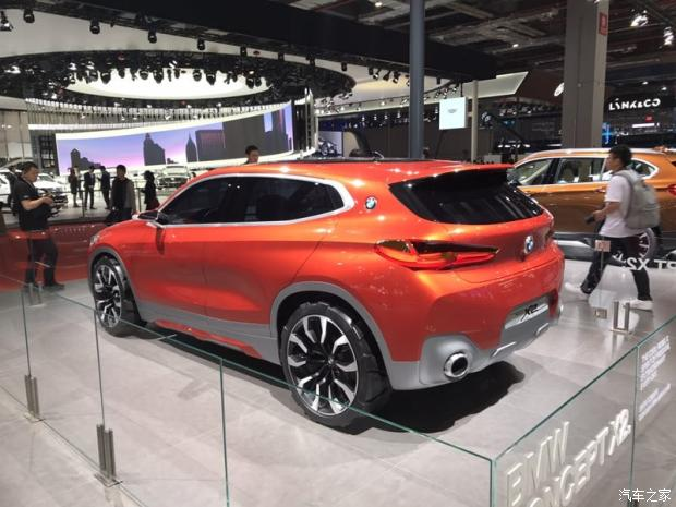 UKL前驱平台 宝马X2概念车国内首发-汽车氪