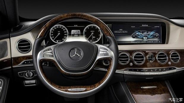 增加多种科技配置 新款奔驰S级内饰官图-车神网