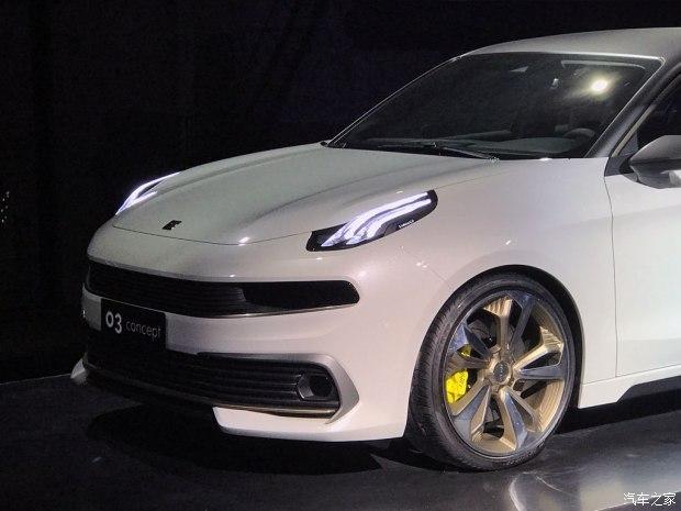 定位紧凑型轿车 领克03概念车正式发布-车神网