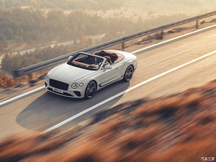 宾利 欧陆 2019款 6.0T GT W12 敞篷版