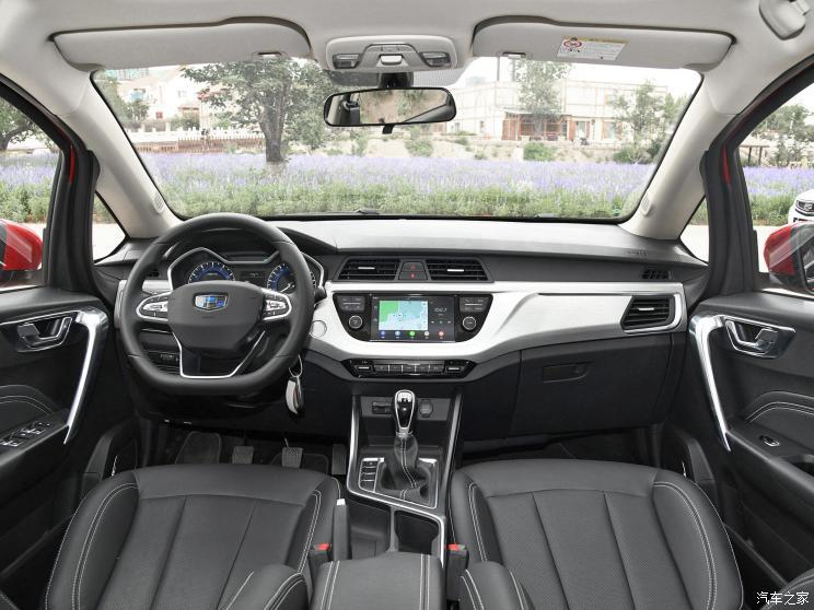 吉利汽车 远景X3 2019款 升级版 1.5L 手动尊贵型