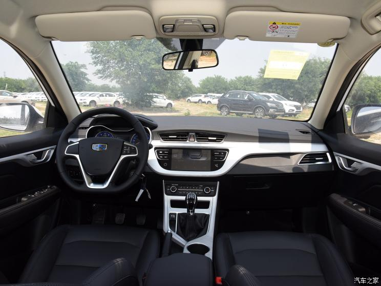 吉利汽车 远景 2019款 升级版 1.5L 手动豪华型 国VI