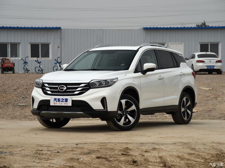 广汽乘用车 传祺GS4 2019款 270T 自动两驱豪华智联版
