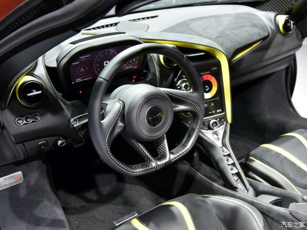 650S的继任者 上海车展实拍迈凯伦720S-车神网