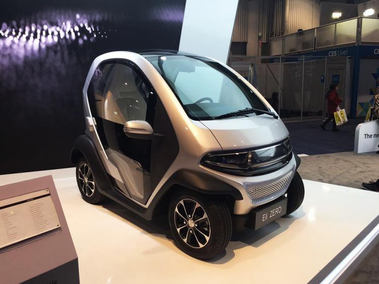 Eli ZERO电动车将亮相2017CES-汽车氪