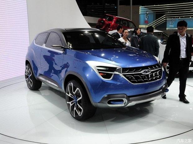 奇瑞汽车 concept β 2014款 基本型