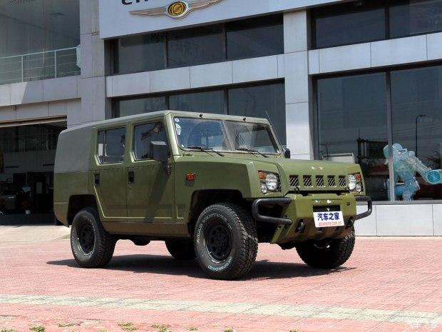 北京汽车制造厂 勇士 2008款 2.7L 五门四驱汽油版