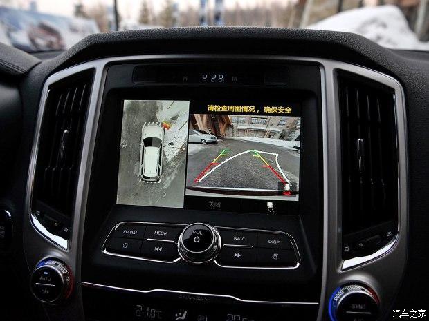长安汽车 长安CS95 2017款 2.0T 四驱智尊版