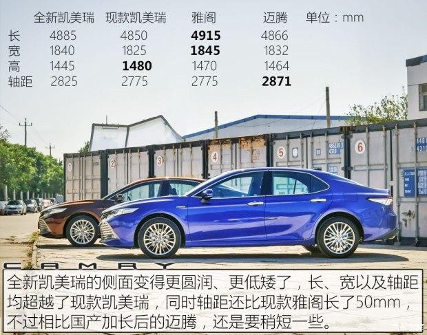 售17.98-27.98万 国产全新凯美瑞上市-车神网