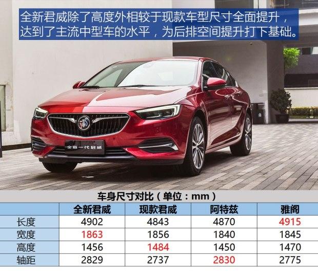 售17.58-26.98万 别克全新君威正式上市-汽车氪
