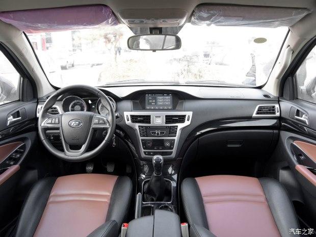 福迪汽车 揽福 2015款 2.4L 汽油两驱标准版 7座