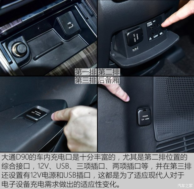 上汽大通 上汽大通D90 2017款 2.0T 标准型