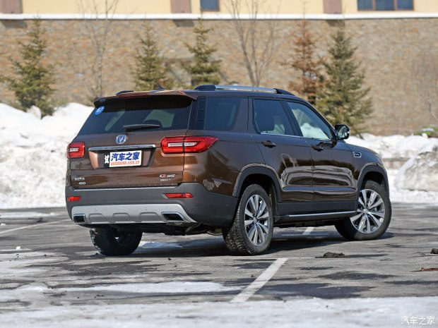 7座中大型SUV 长安CS95将于3月28日上市-车神网