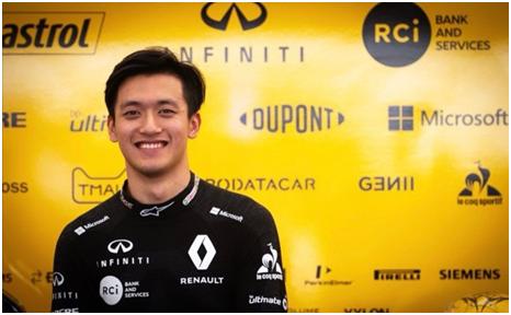 雷诺周冠宇出征古德伍德速度节 再创赛车史上新纪录