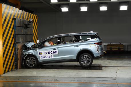 获2018版C-NCAP五星成绩,嘉际成唯一通过最严苛安全评价的MPV
