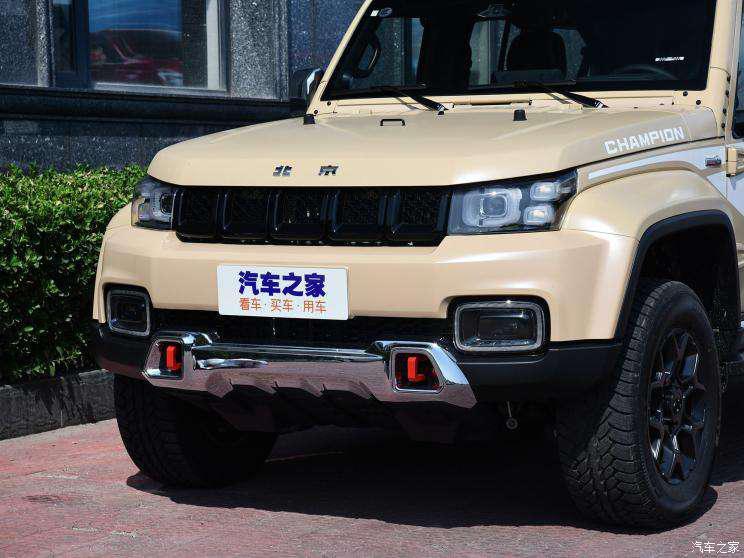 北京越野 北京BJ40 2019款 2.3T 自动四驱环塔冠军版 国VI