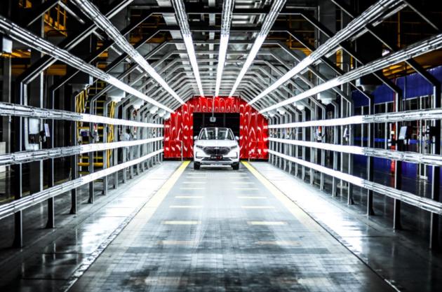 """极致工艺炼成""""当红车"""" 长安欧尚X7诞生工厂探寻"""