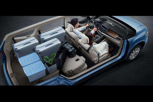 20万元以内动力最强的MPV 吉利嘉际1.8TD悦享型到店