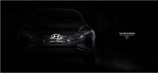 现代汽车SUV概念车预告曝光 将于洛杉矶车展首发亮相