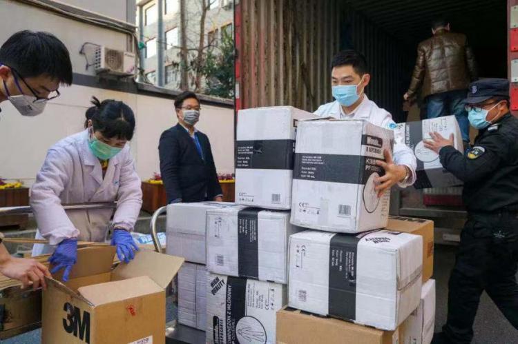 共克时艰,我们能赢!吉利首批海外采购捐赠医疗物资抵达浙一、省公安厅