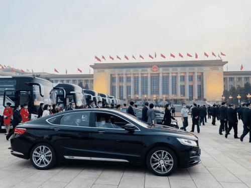 """中国博瑞为两会保驾护航 实力诠释""""中国式安全感""""-汽车氪"""