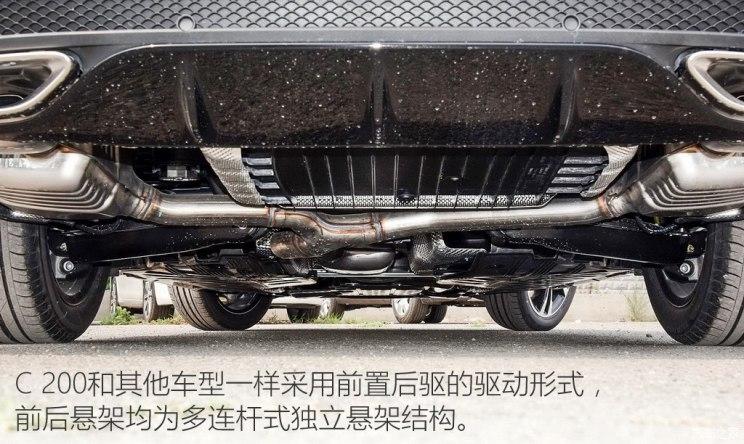 北京奔驰 奔驰C级 2015款 C 200 运动版
