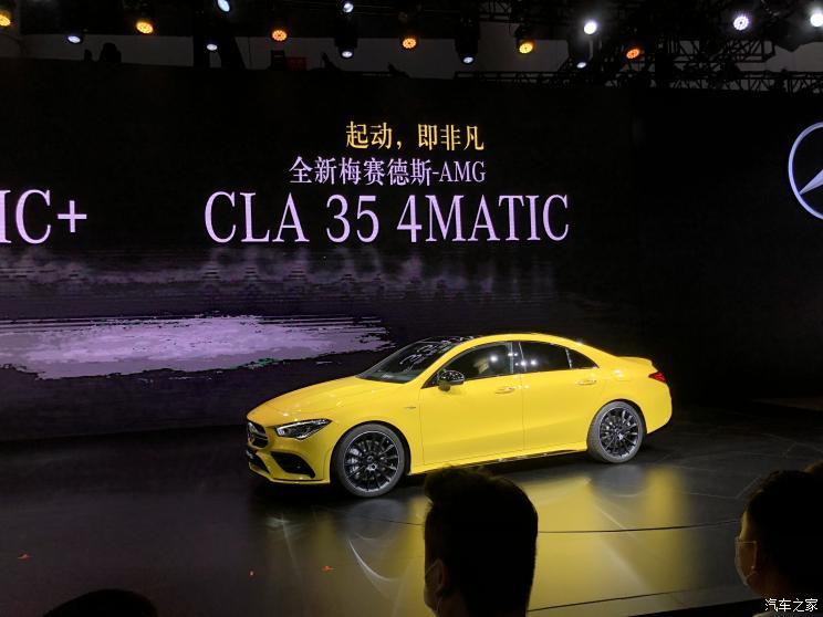奔驰AMG CLA 35成都车市上市 售43.98万元-车神网