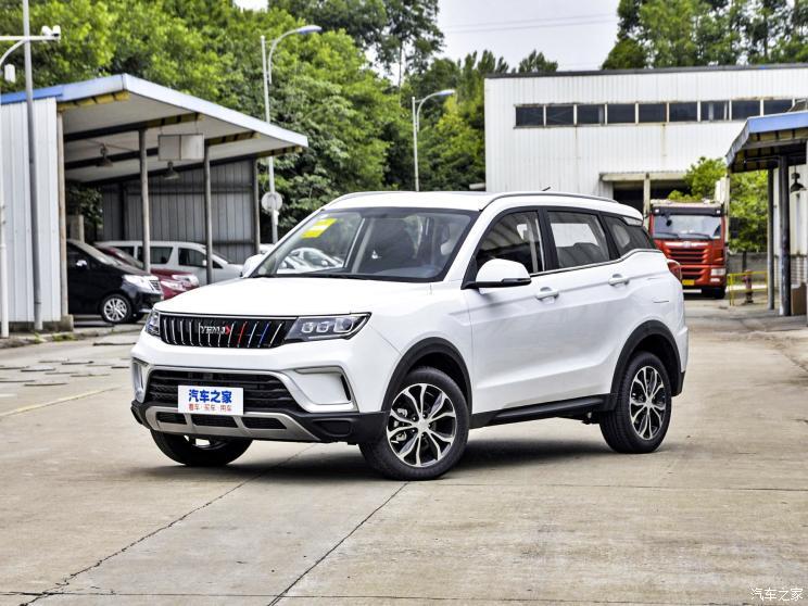 野马汽车 博骏 2021款 运动版 1.5T CVT旗舰型
