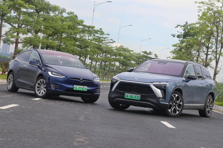 新能源网红头牌之争,全新ES8与Model X说不清的恩怨情仇-车神网