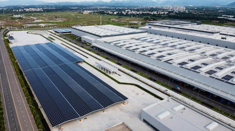践行绿色发展理念 零跑汽车金华AI工厂光伏项目正式交付