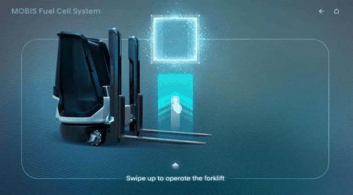 现代摩比斯联手成功研发氢燃料叉车开展试运行