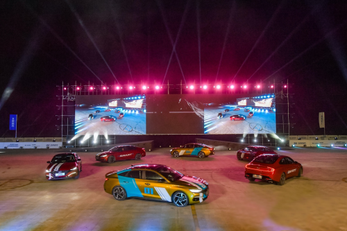 现实版速度与激情 就在苏州现代嘉年华2.0活动现场-车神网