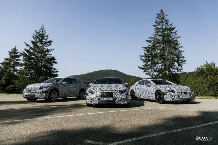 最早明年第一季度量产 奔驰确定 6 款 EQ 车