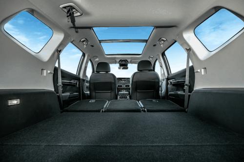 适合家用大空间SUV 豪越后排放倒居然是双人床