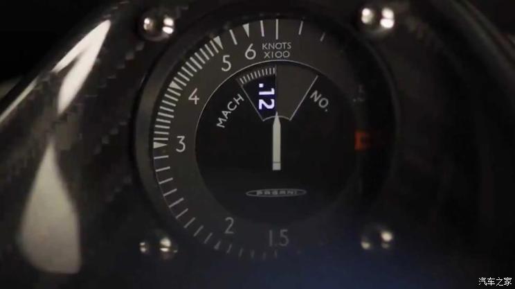 用马赫展现速度 帕加尼或推出全新超跑