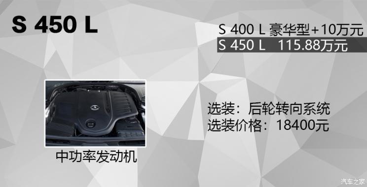 奔驰(进口) 奔驰S级 2021款 S 450 L
