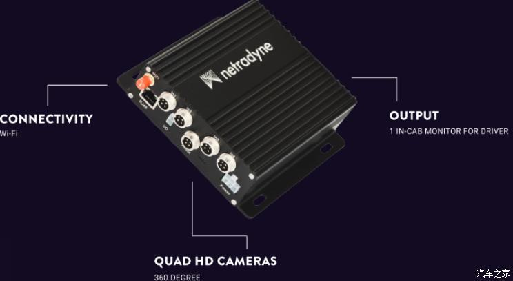 可获全景视图 Netradyne推视觉安全配件