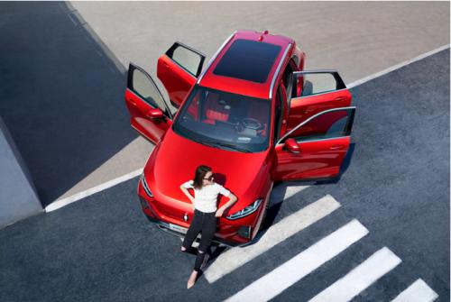 出行新选择,欧拉首款A+级纯电SUV甜趣来袭