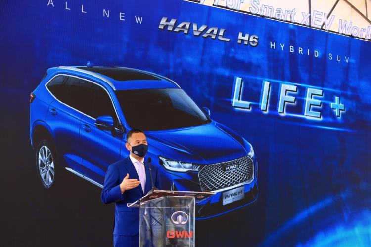 长城汽车海外第二家全工艺整车工厂——泰国罗勇工厂投产 哈弗H6 HEV下线