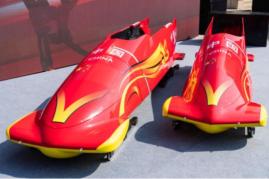 红旗敬英雄 雪车助冬运 红旗携手中国体育再启新程